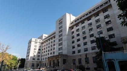 Los tribunales federales de Comodoro Py (Adrián Escandar)