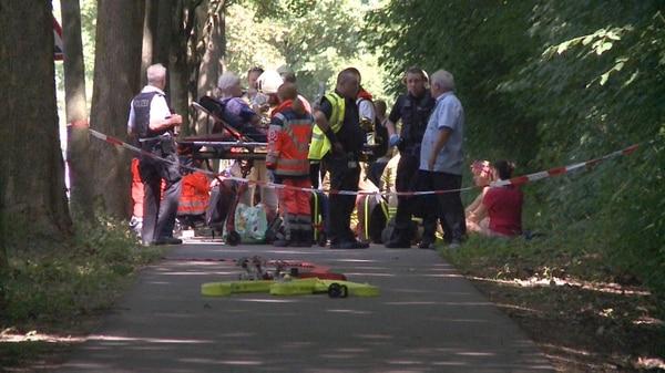 (@albertoallen) Las autoridaades confirmaron más de 10 heridos