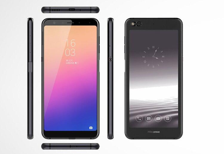 Hisense A6, el nuevo móvil de dos pantallas que saca la compañía.