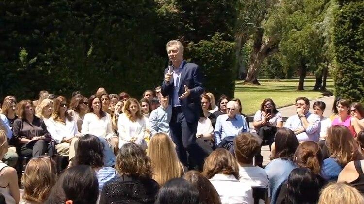 Mauricio Macri lanzó un plan de equidad de género: