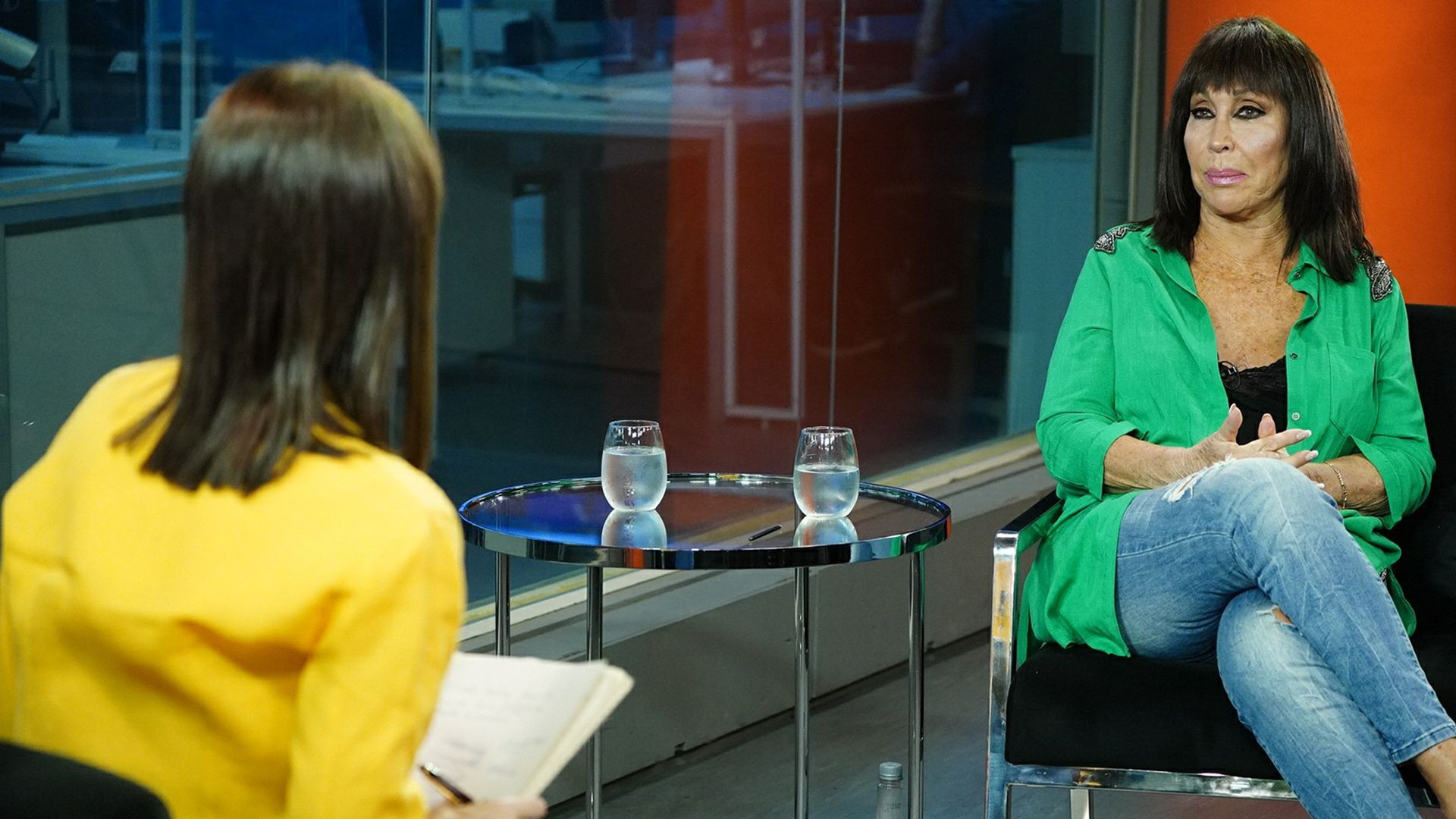 Entrevista Moría Casan y María Laura Santillán - Infoabe 12/10/21