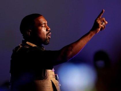 Este domingo, el rapero fue visto en un servicio religioso en Atlanta (Foto: Reuters)
