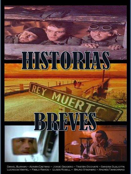 Afiche de la primera edición de Historias Breves