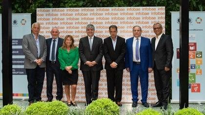 José Montaldo (TGN), Oscar Andreani (Andreani), María José Pelli (OSDE), Miguel Ángel Gutiérrez (YPF), Daniel Hadad (Infobae), Néstor Abatidaga (Sancor Seguros), Luis Fernando Pelaez (Renault)