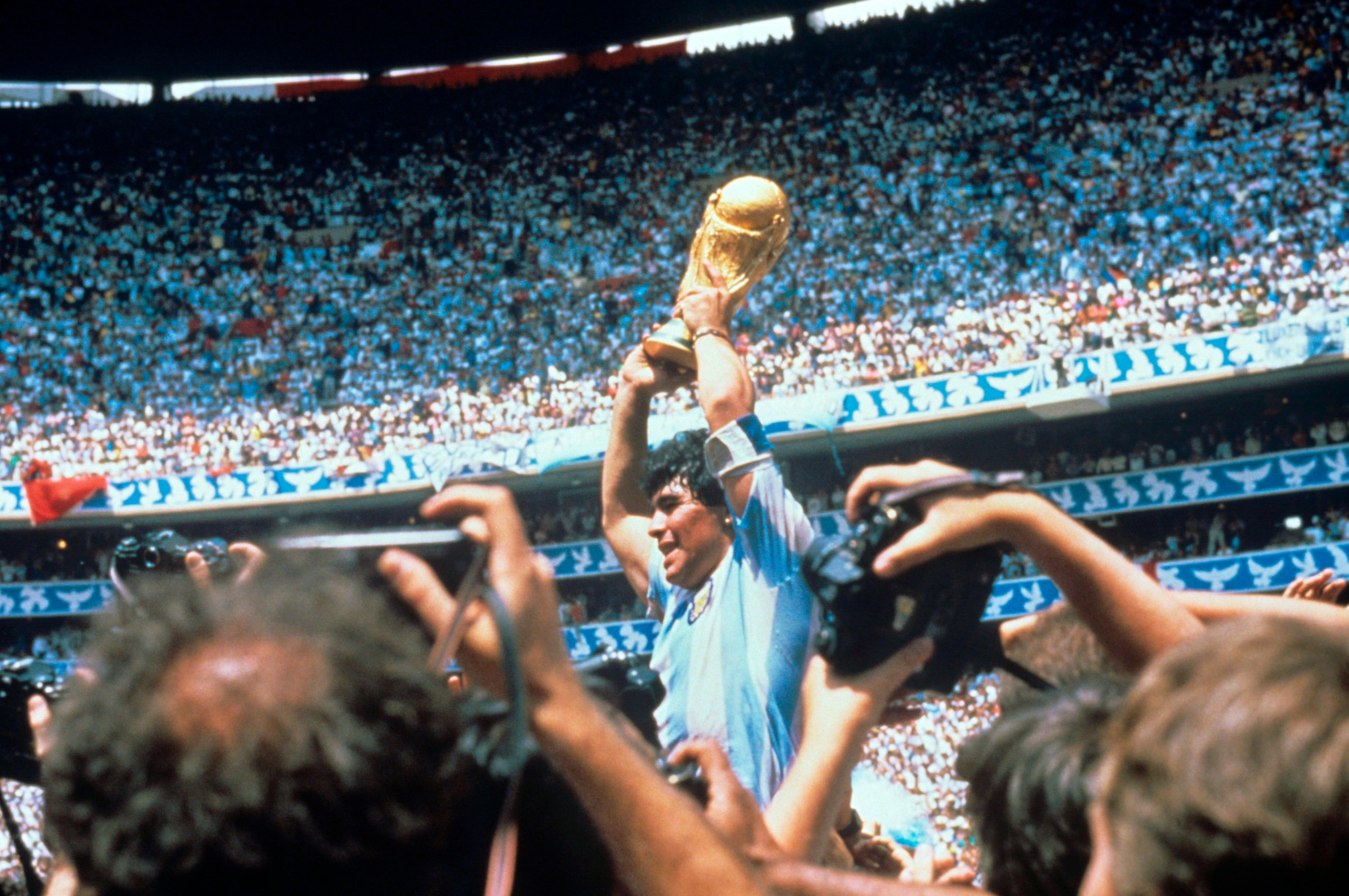 1986, el Mundial de D10S (EFE)