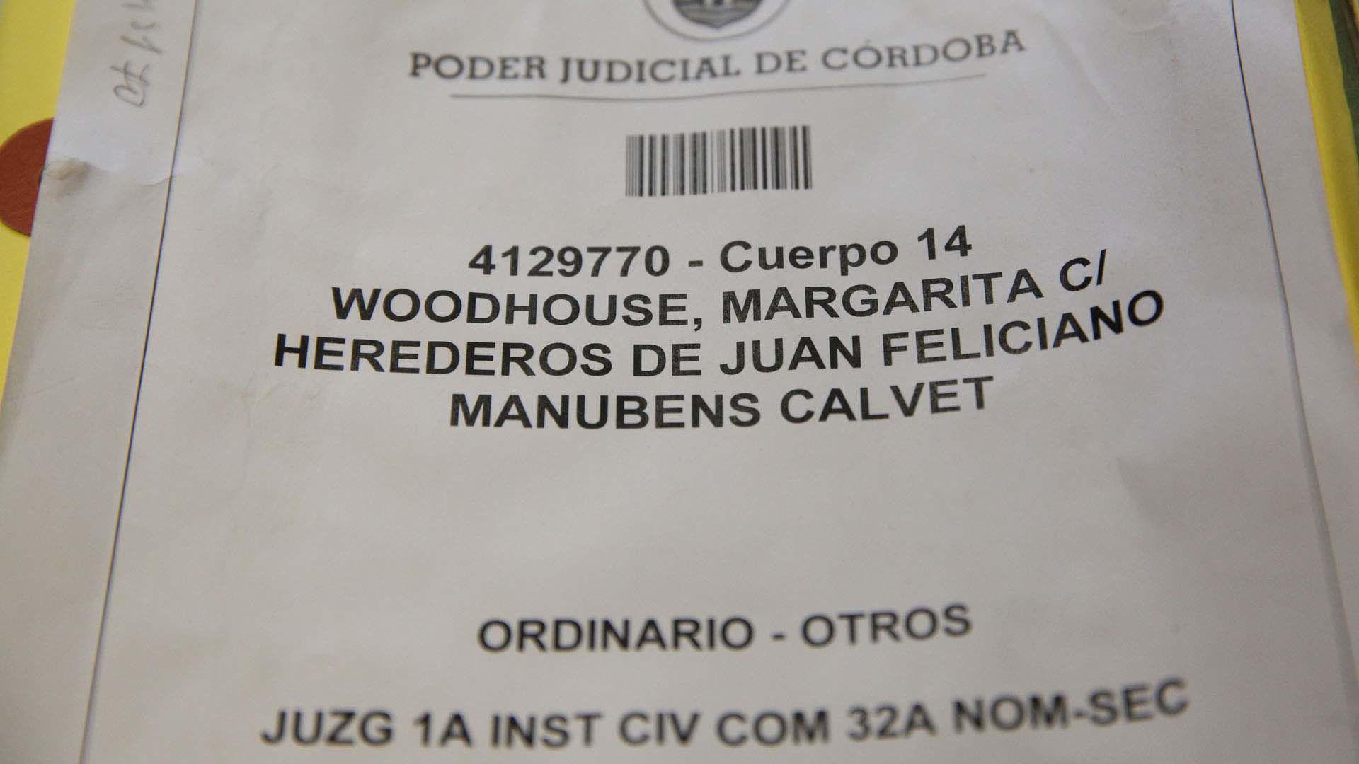 Caso Herencia Manubens Calvet