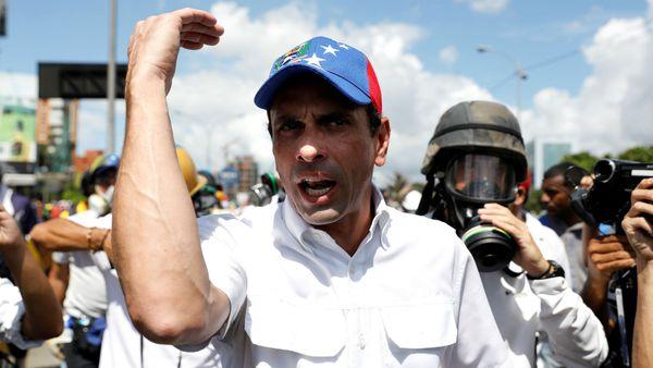El Tribunal Supremo de Venezuela amenazó a Henrique Capriles con enviarlo a prisión