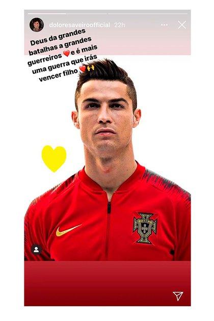 El mensaje de apoyo de la madre de Cristiano Ronaldo