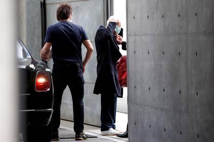 El diseñador Giorgio Armani realizó su desfile a puertas cerradas (Reuters)