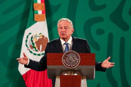 En varias ocasiones, el movimiento FRENAAA ha pedido la renuncia de López Obrador. FOTO: GALO CAÑAS/CUARTOSCURO.COM
