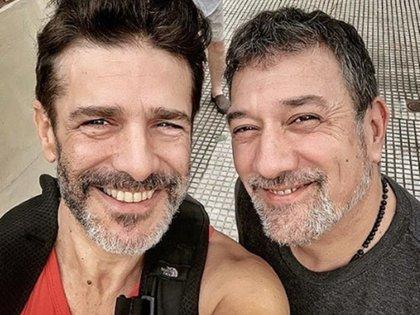 Leo Sbaraglia y Alejo García Pintos