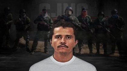 El Mencho, leader of the Jalisco Nueva Generación Cartel (CJNG) (Photo art: Steve Allen)