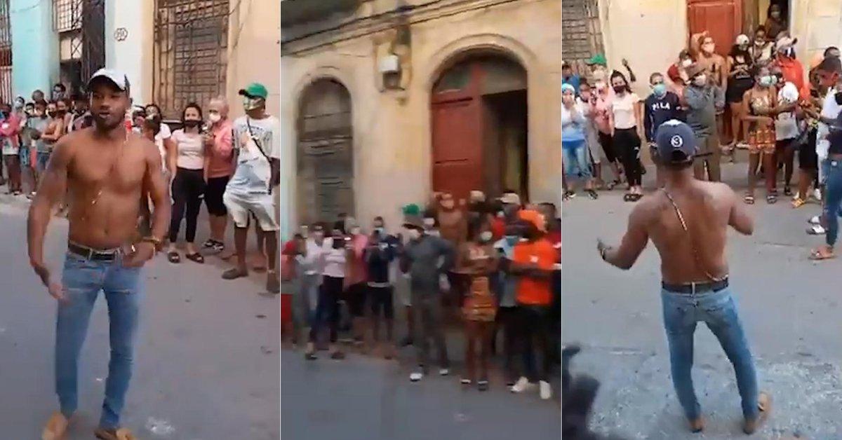 Arrestos fallidos y una canción que enfurece: la manifestación popular que  desafió y puso a prueba al régimen cubano - Infobae