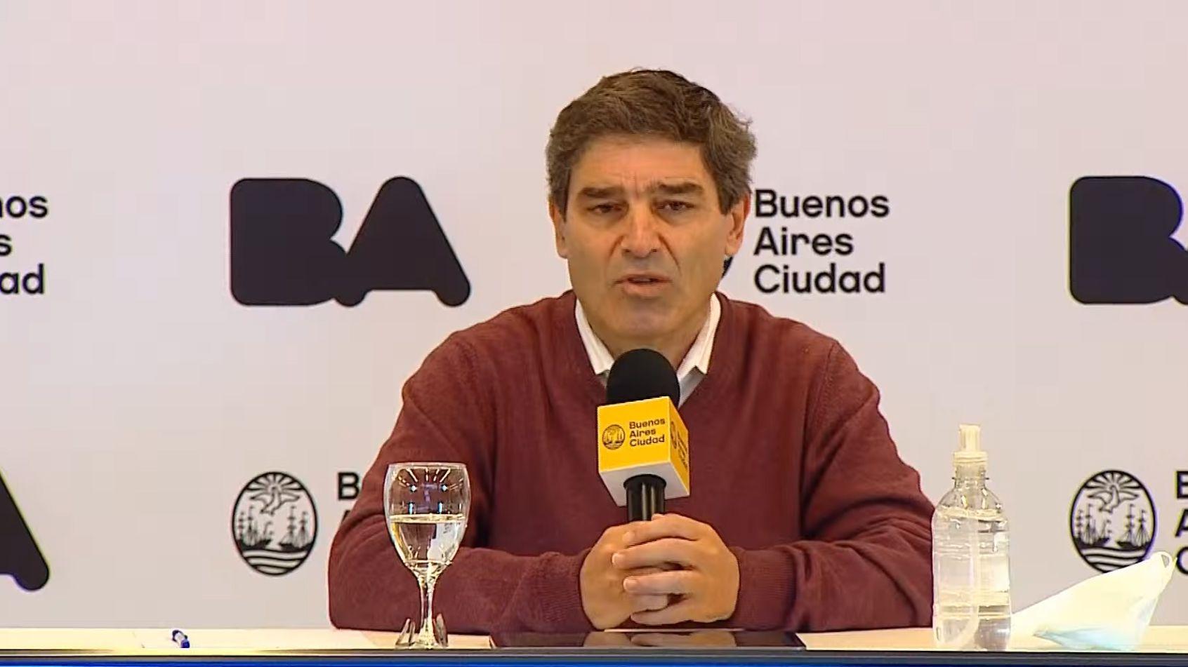 Fernan Quiros - información sobre la situación sanitaria de la Ciudad.
