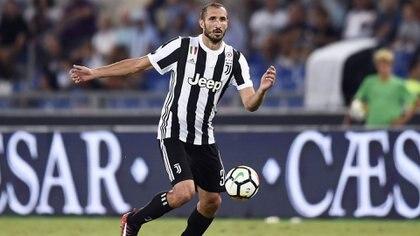 Giorgio Chiellini será la voz de experiencia de la defensa de Juventus