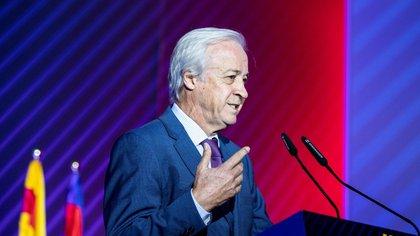 Carles Tusquets, es el presidente de la Comisión Gestora del FC Barcelona que debe convocar elecciones (Europa Press)