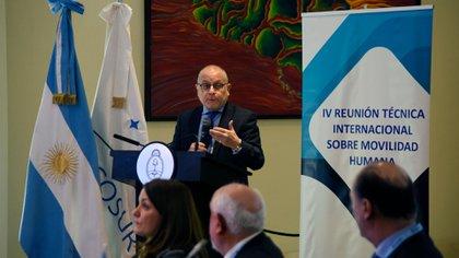 Jorge Faurie, ministro de Relaciones Exteriores de Argentina (Cancillería argentina)