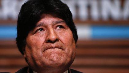 En la imagen el expresidente de Bolivia Evo Morales. EFE/Juan Ignacio Roncoroni/Archivo