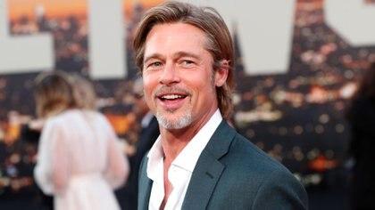 Brad Pitt a su llegada al Teatro Chino (REUTERS)