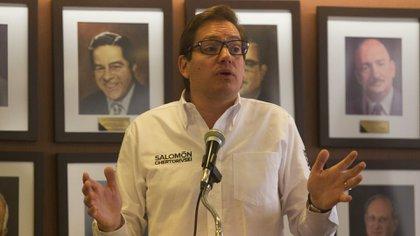 """Chertorivski comentó que el tema de la vacunación es """"una luz al final del túnel"""", pero que en México es necesario un sistema de transparencia sobre el esquema de vacunación (Foto: Cuartoscuro)"""