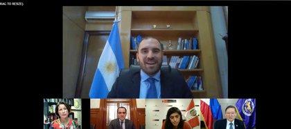 """El ministro de Economía, Martín Guzmán, dijo esta mañana que todavía hay """"diferencias económicas y legales"""" con un grupo de bonistas"""
