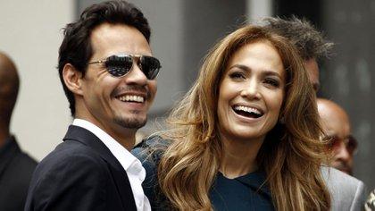 Jennifer López y Marc Anthony se separaron en 2017 tras siete años de matrimonio (AP)