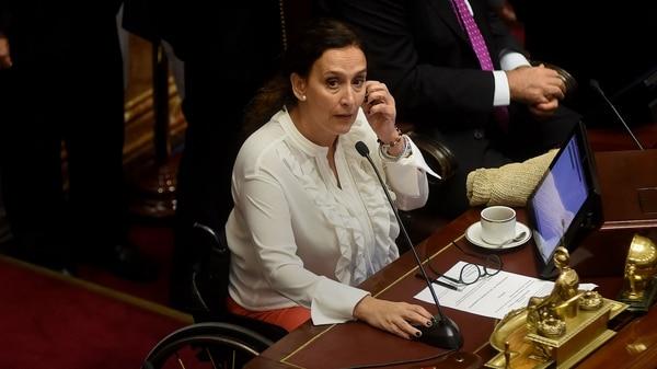 Gabriela Michetti, con una clara postura anti aborto, definirá en caso de empate