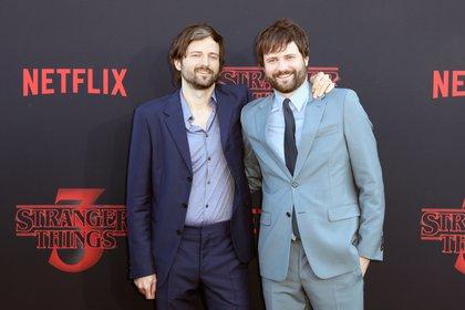 Los hermanos Duffer adelantaron que la cuarta temporada no será la última (Foto: EFE/ETIENNE LAURENT)