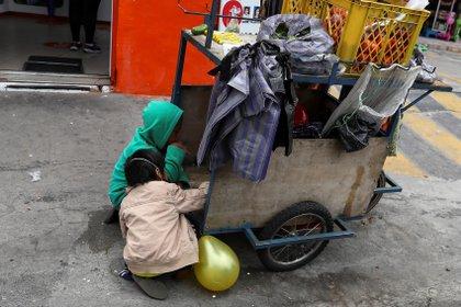 Un 55% de los menores de 18 años de la Argentina viven en esa condición.