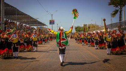La mayor fiesta del Caribe Colombiano tendrá que celebrarse desde casa a causa del coronavirus. Vía: Carnaval de Barranquilla