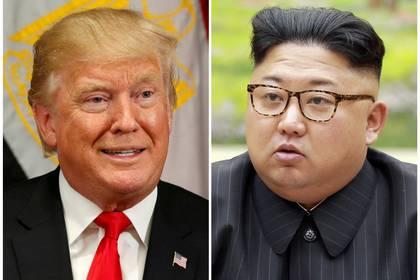 Donald Trump y Kim Jong-un han mantenido han tenido una fuerte retórica en la que ambos se amenzan.