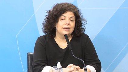 Carla Vizotti, Secretaria de Acceso a la Salud de la Nación, fue la encargada de negociar la compra de la vacuna rusa