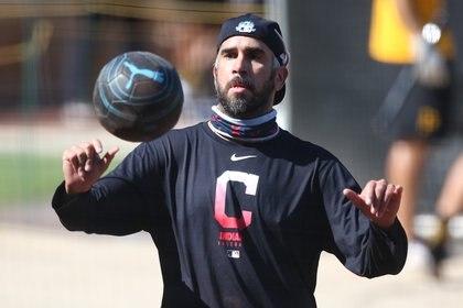 Pérez inició su carrera en los con Padres de San Diego (Foto: Charles LeClaire/ USA TODAY Sports)