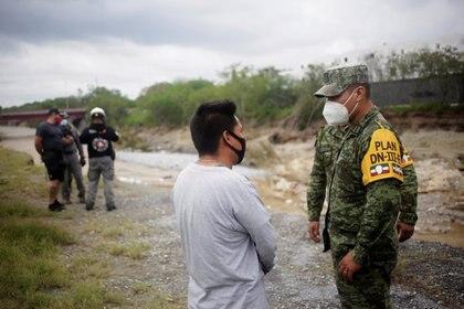Después de entrar a Texas (EE.UU.) como huracán, llegó a México como tormenta y depresión tropical (Foto: Reuters/Daniel Becerril)