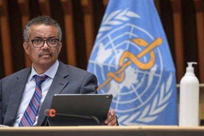 El director general de la Organización Mundial de la Salud (OMS), Tedros Adhanom EFE/EPA/FABRICE COFFRINI/Archivo