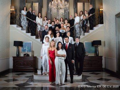 Con un importante elenco conformado por figuras como Patricia Reyes Spíndola, Alejandro Camacho y Leticia Calderón, la telenovela logró cautivar al público (Foto: Televisa Prensa)