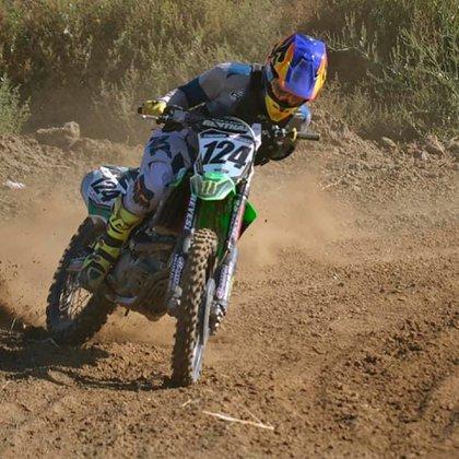 """Conmoción por la muerte del """"Wey"""" Zapata, el corredor de motocross que  competía sin un brazo - Infobae"""