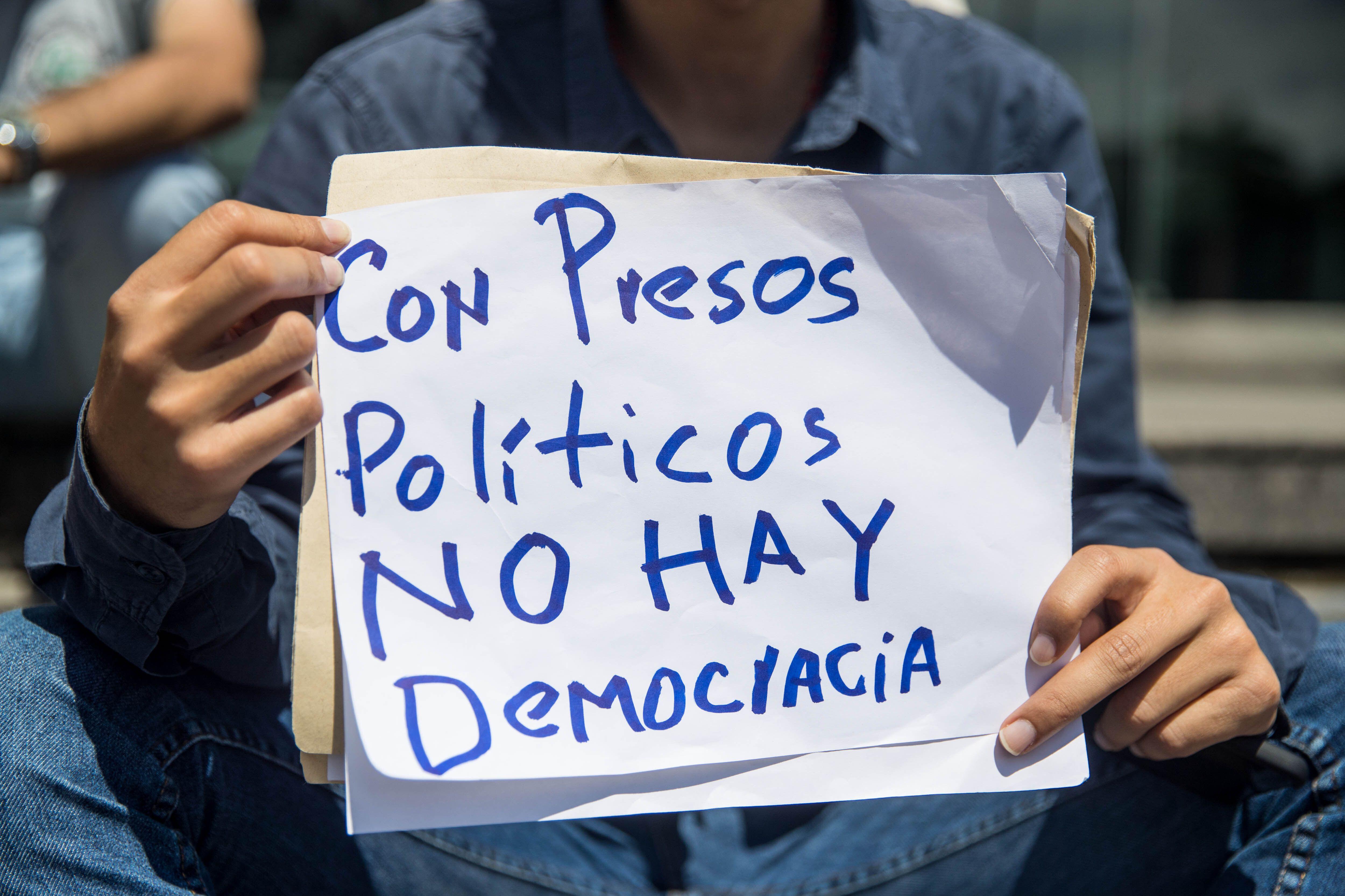 En el país hay 261 detenidos a los que se considera presos políticos, uno menos que los reportados el pasado 6 de septiembre (EFE/Miguel Gutiérrez/Archivo)