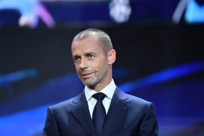 El presidente de la UEFA se opuso a la creación de la Superliga europea - REUTERS