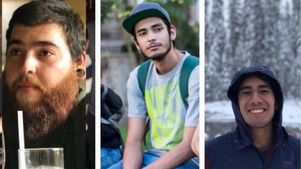 Los tres estudiantes de cine asesinados en Jalisco