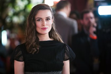 La actriz británica Keira Knightley rechaza protagonizar escenas de sexo dirigidas por hombres (EFE)