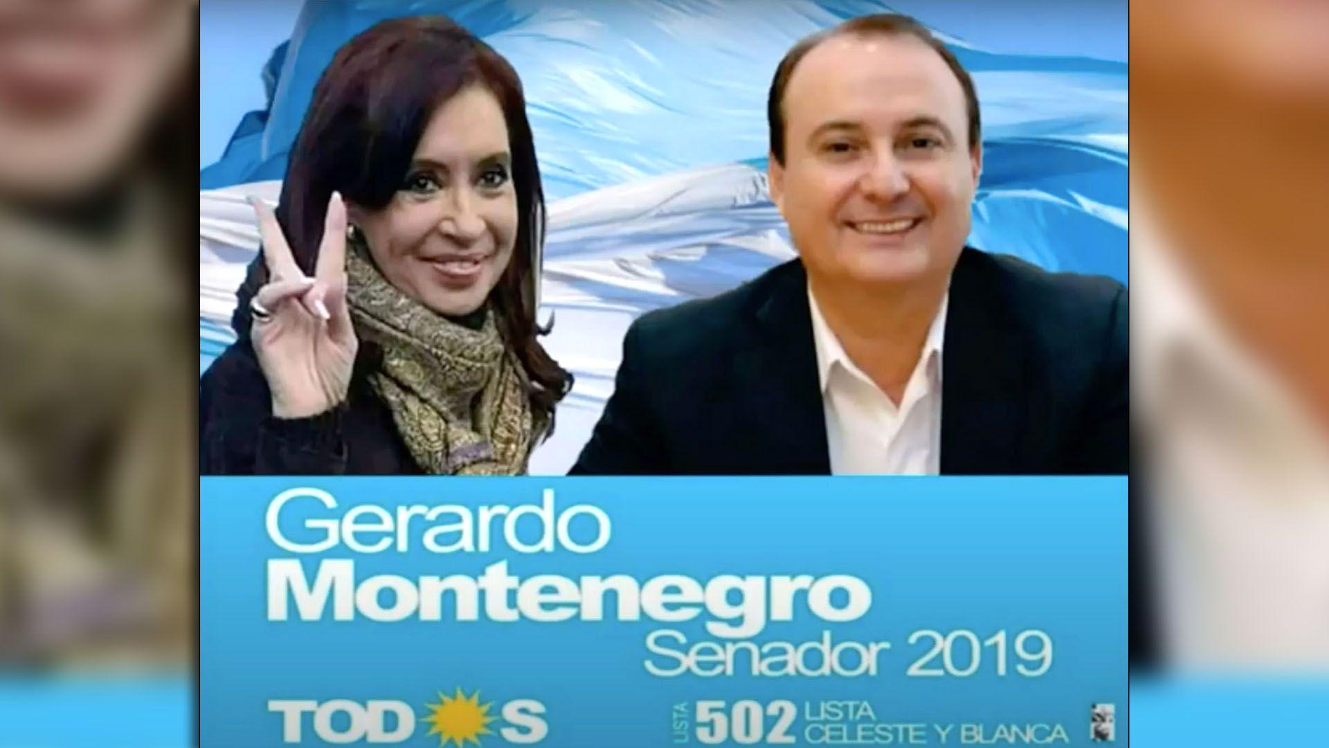 Gerardo-Montenegro cristina kirchner portada