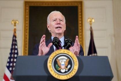 Joe Biden, presidente de Estados Unidos (REUTERS/Kevin Lamarque)