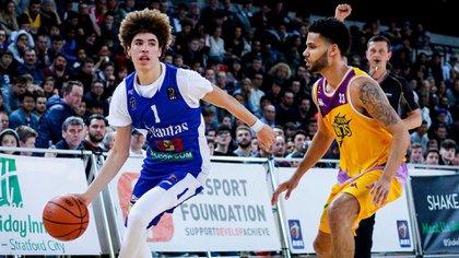 LaMelo Ball, uno de los prospectos más requeridos en el Draft 2020 (Shutterstock)