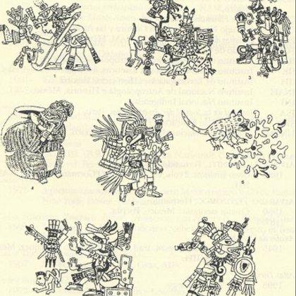 Según el experto de la UNAM, existen 17 representaciones de Huehuecóyotl en 12 manuscritos pictográficos diferentes (Foto: ejournal.unam.mx)
