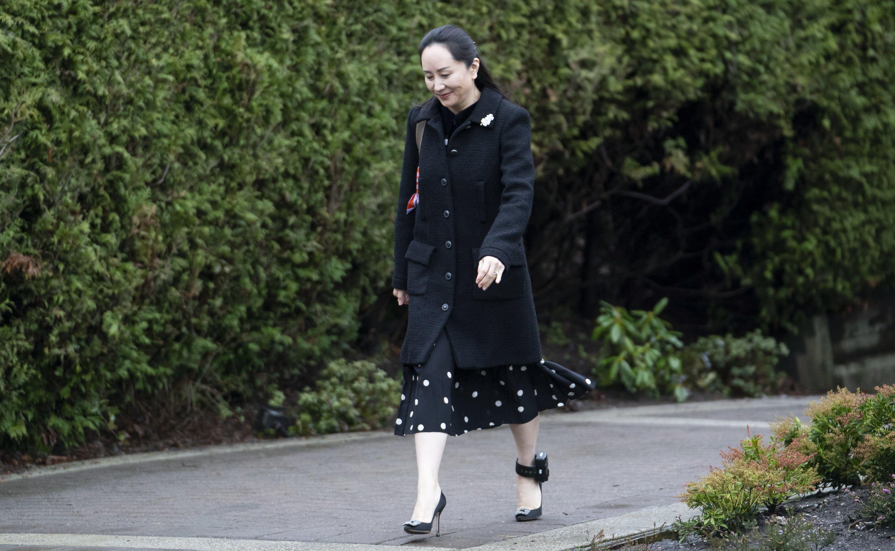 In the image, the financial director of Huawei Meng Wanzhou (c). EFE/File