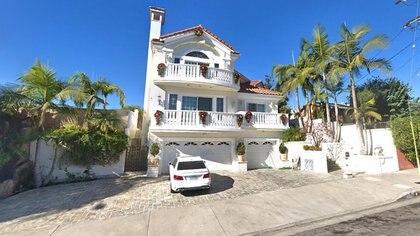 Residencia que ocupaba Naasón en Los Ángeles (Foto Raúl Olmos).