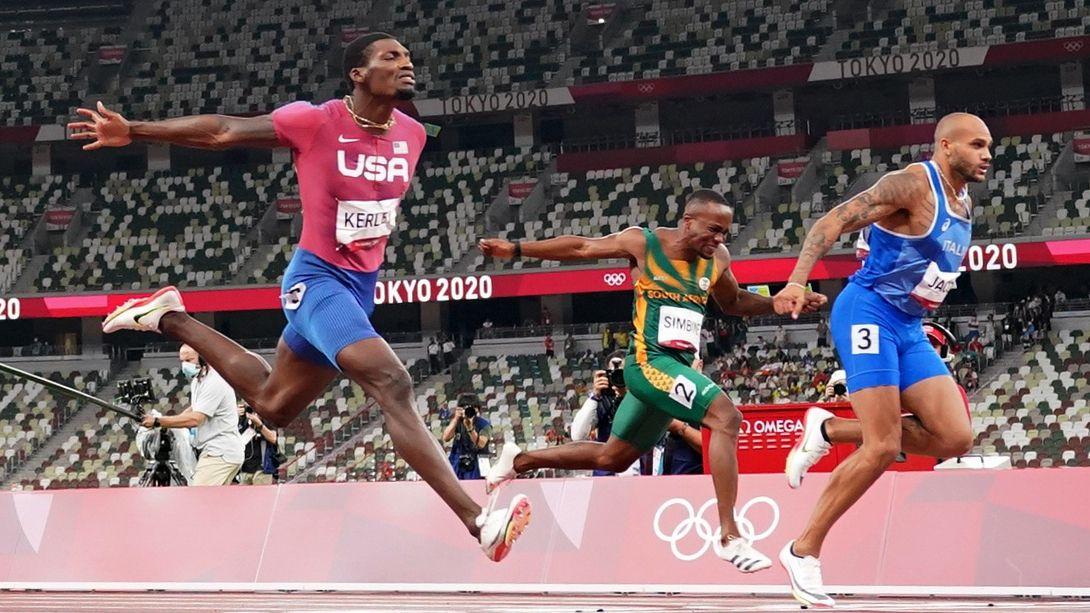 El italiano Lamont Marcell Jacobs es el nuevo rey de los 100 metros (REUTERS/Fabrizio Bensch)