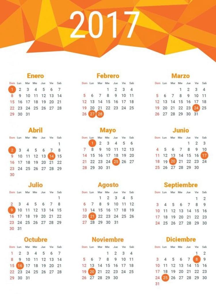 Calendario 2017 Argentina.Como Es El Nuevo Calendario De Feriados En La Argentina