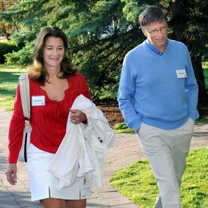 La pareja durante el 27th Annual Media and Technology Conference in Sun Valley Idaho, USA (Foto: EFE)